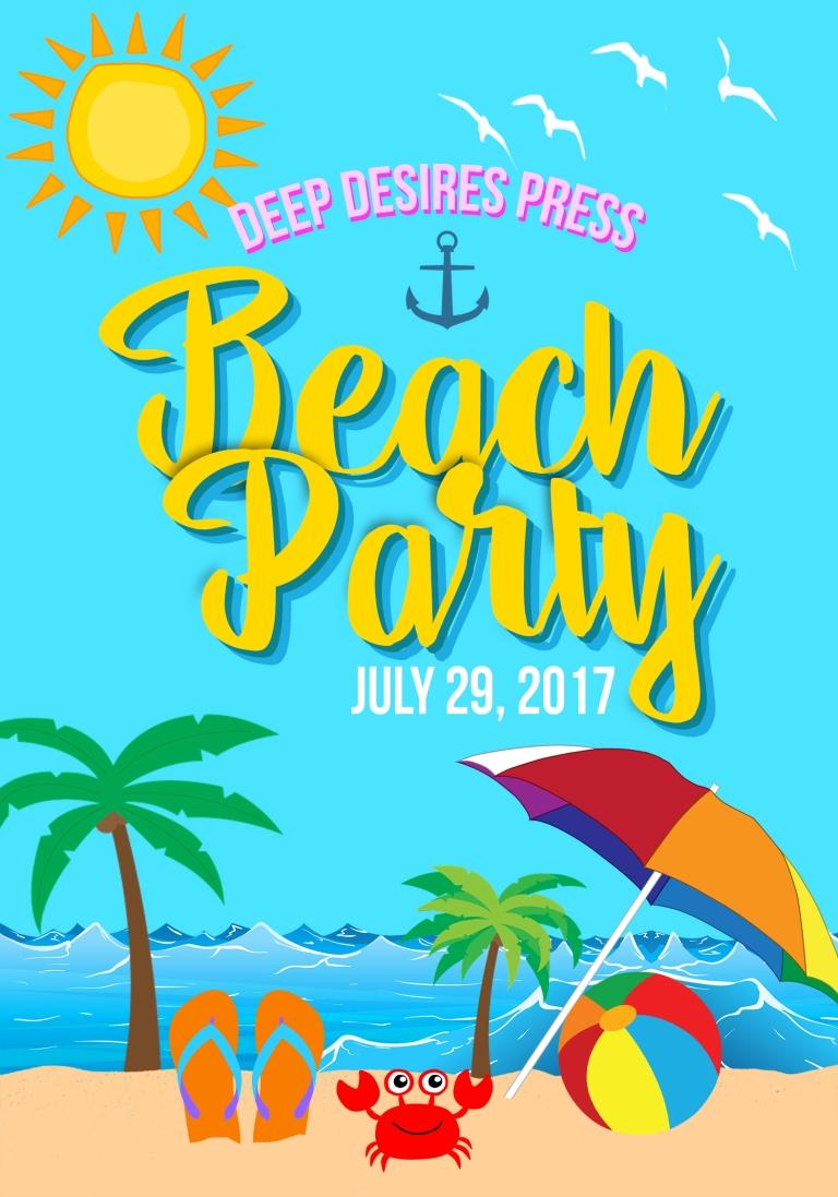 DEEP DESIRES BEACH PARTY [INVITATION]
